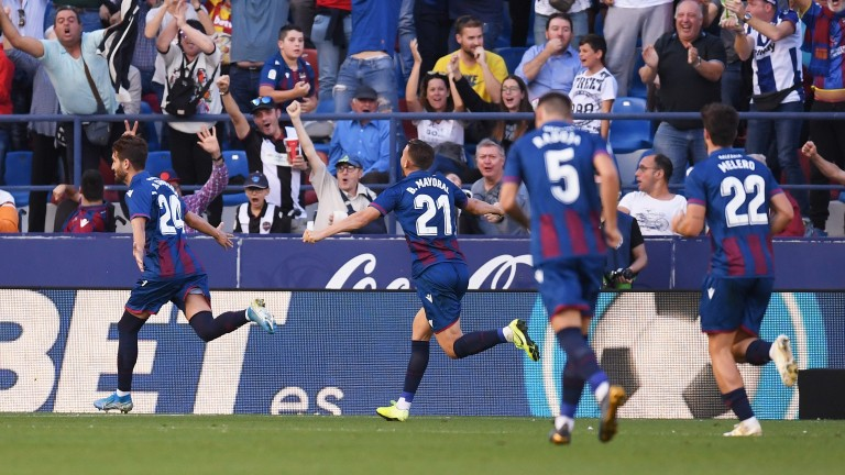 Levante can overpower newly promoted Real Mallorca in La Liga