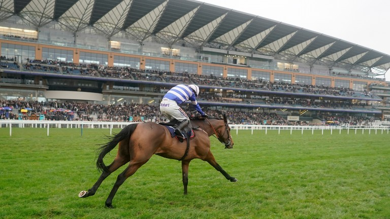 Cyrname powers clear of Altior at Ascot in November