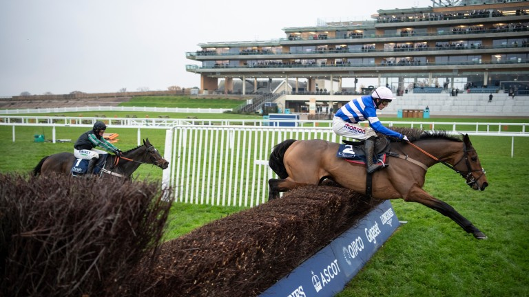 Cyrname: proved too good for Altior in Saturday's 1965 Chase at Ascot