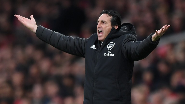 Unai Emery is on thin ice at Arsenal