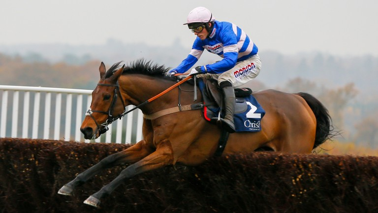 Cyrname is set to begin his season in the Charlie Hall Chase at Wetherby on Saturday