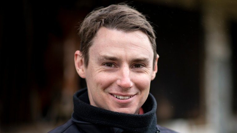 Simon Pearce: enjoyed a standout day at Lingfield