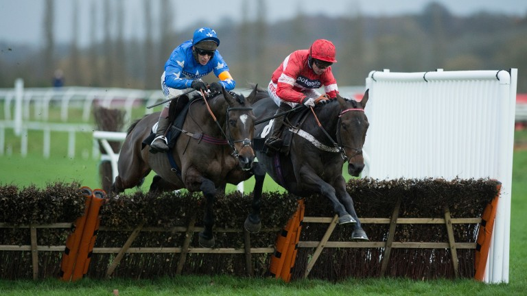 Buveur D'Air (right) was a winner on this card four years ago