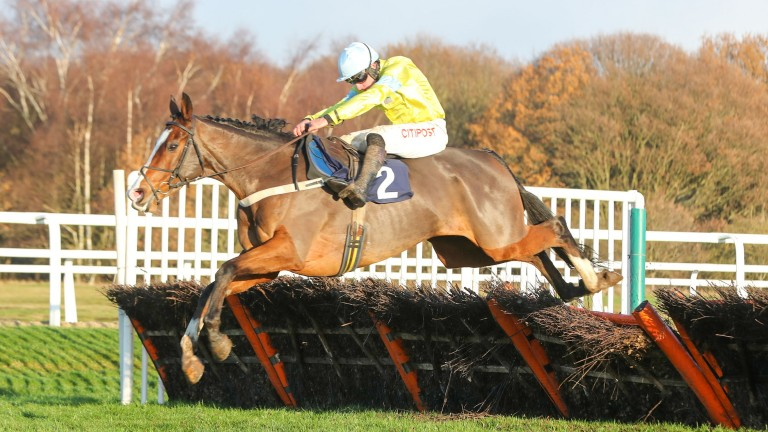 Cornerstone Lad giving Henry Brooke the biggest win of his career