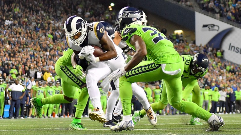 Seattle and the Rams had a memorable battle earlier in the season