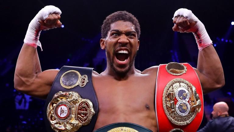 Unified heavyweight world champion Anthony Joshua