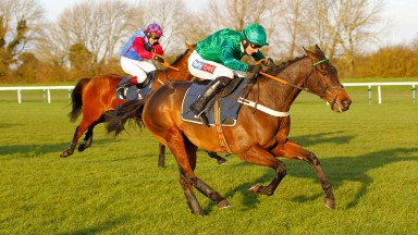 Top Notch strides clear to win a second Peterborough Chase under Daryl Jacob