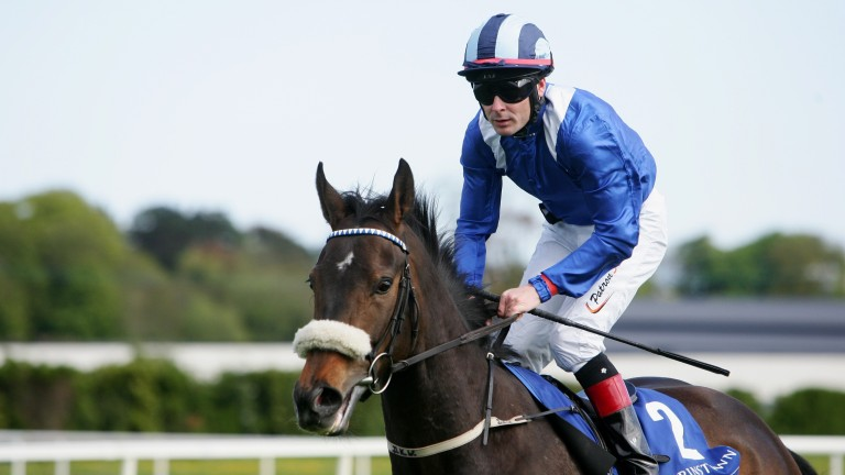 On board Bethrah, his 2010 Irish 1,000 Guineas winner