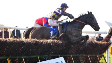 Clondaw Secret: strikes in the first division of the four-year-old geldings' maiden
