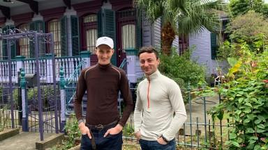 Old friends, young guns: Jack Gilligan (left) and Adam Beschizza