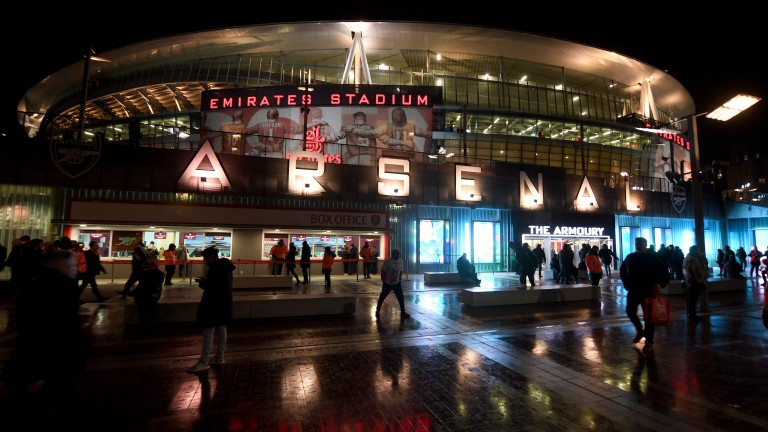 Arsenal host champions Manchester City at the Emirates on Sunday