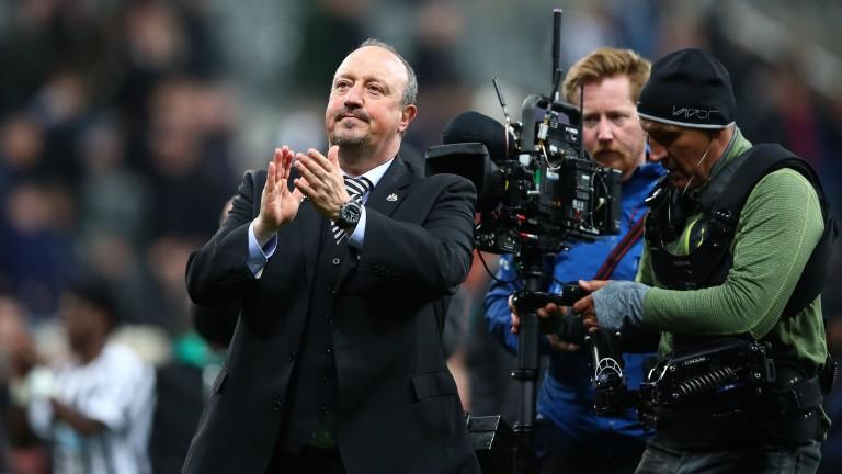 Rafael Benitez has been conspicuous in the media recently