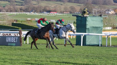 Warthog (far side): a game winner of the Caspian Caviar Gold Cup on Saturday