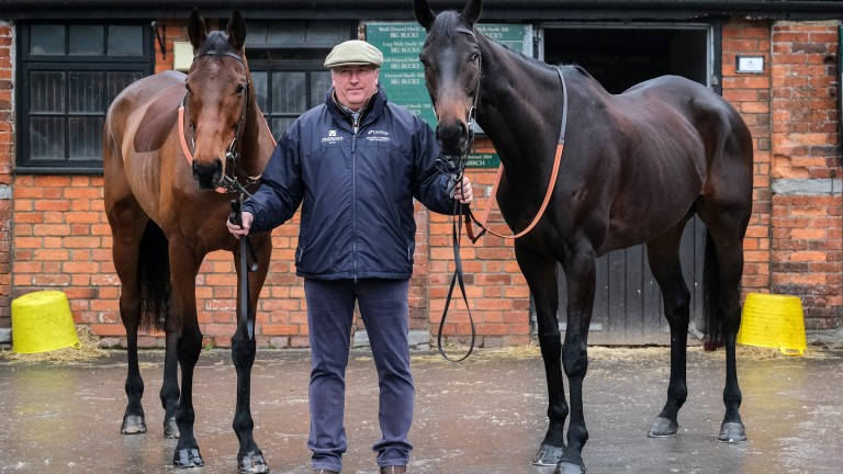 Cyrname and Clan Des Obeaux are ready for the King George VI Chase
