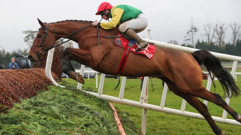 The sizeable Castlebrook on his way to an excellent third at Gowran last month