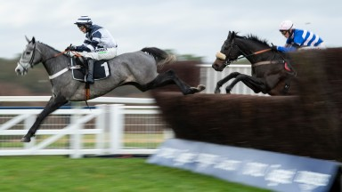 Angels Breath leads Mont Des Avaloirs at Ascot