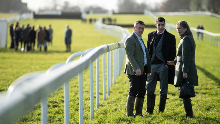 Barry Fenton, Aidan Coleman and Emma Lavelle have opted not to run Paisley Park following a second inspection at Ascot