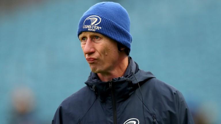 Leinster head coach Leo Cullen