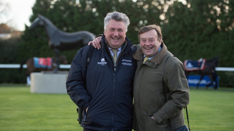 Paul Nicholls and Nicky Henderson both feature in the New Year Honours List