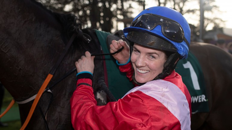 Rachael Blackmore: masterminded a great ride to win on A Plus Tard at Leopardstown