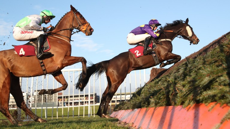 Lord Du Mesnil (leading): won the Tommy Whittle and Last Fling at Haydock last season