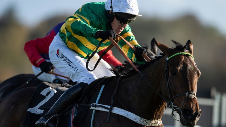 Champ: rated 161 after dramatic RSA Chase win