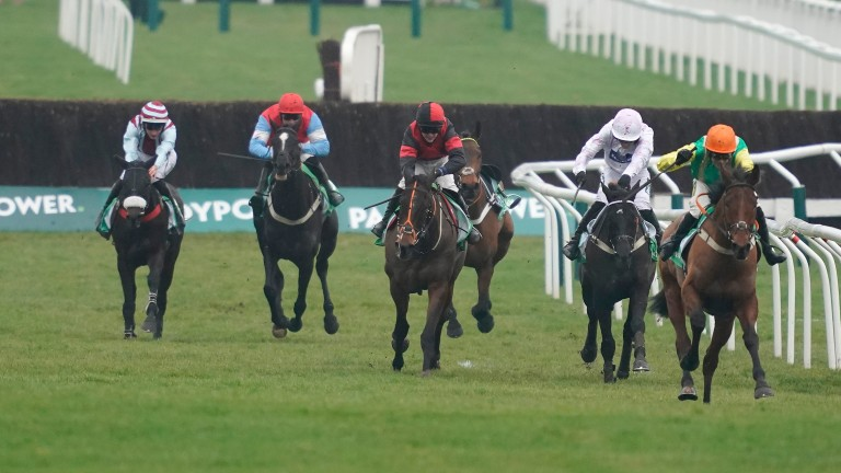 Midnight Shadow capitalises on his good fortune to win at the meeting for the second year running