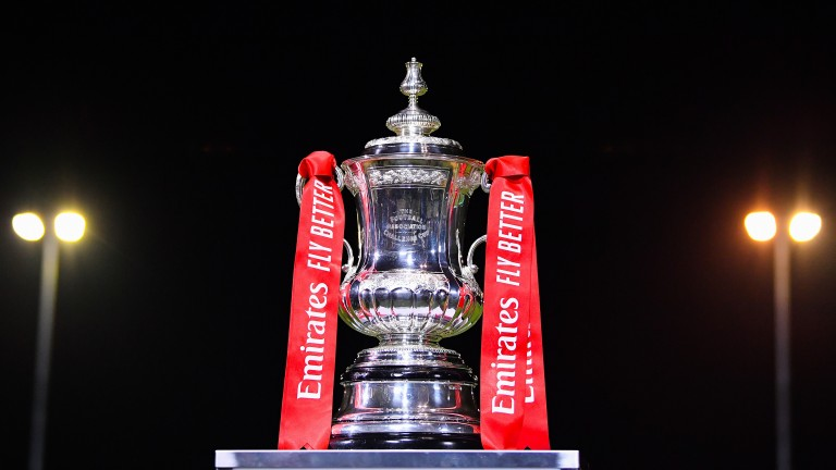 The world famous FA Cup trophy