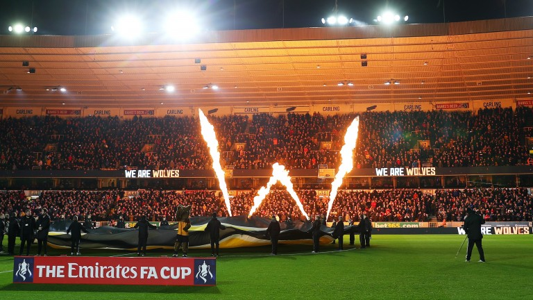 Wolves and Manchester United failed to live up to the fireworks inside Molineux before their FA Cup third-round match