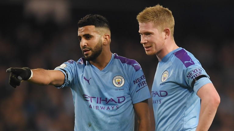 Riyad Mahrez and Kevin de Bruyne are chasing more silverware with Manchester City