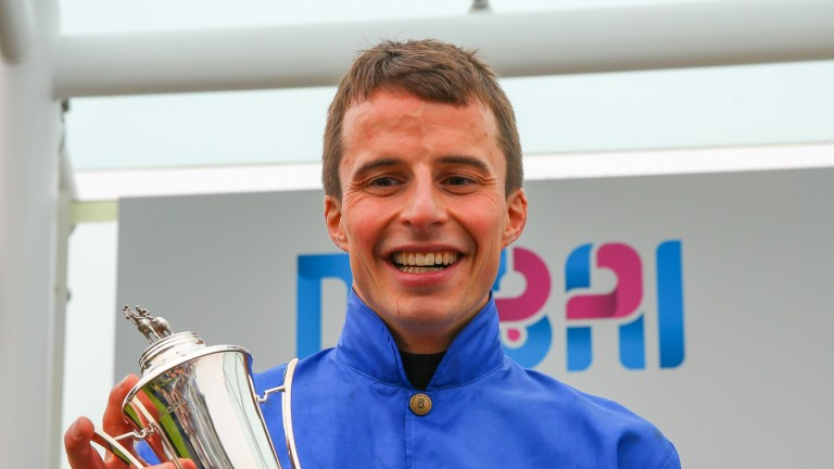 """William Buick: """"He has a nice cruising speed, which is helped by his big stride"""""""