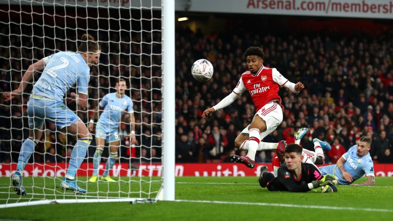 Reiss Nelson's goal helped Arsenal see off impressive Leeds in the FA Cup