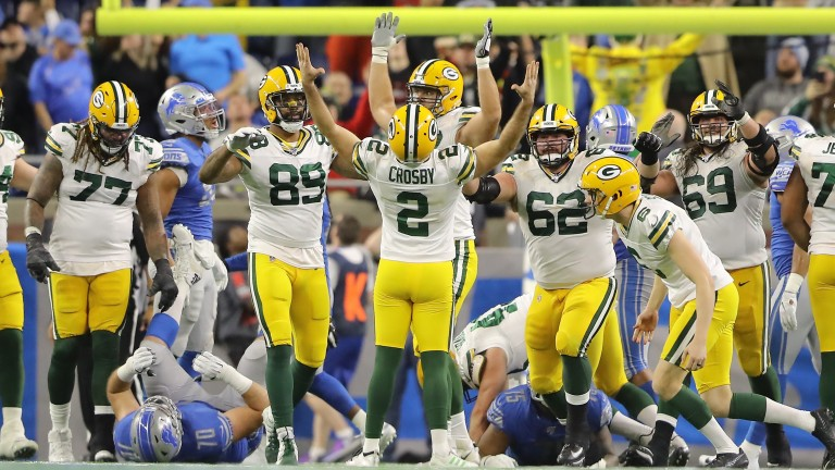 Green Bay Packers could be celebrating another win when they host Seattle