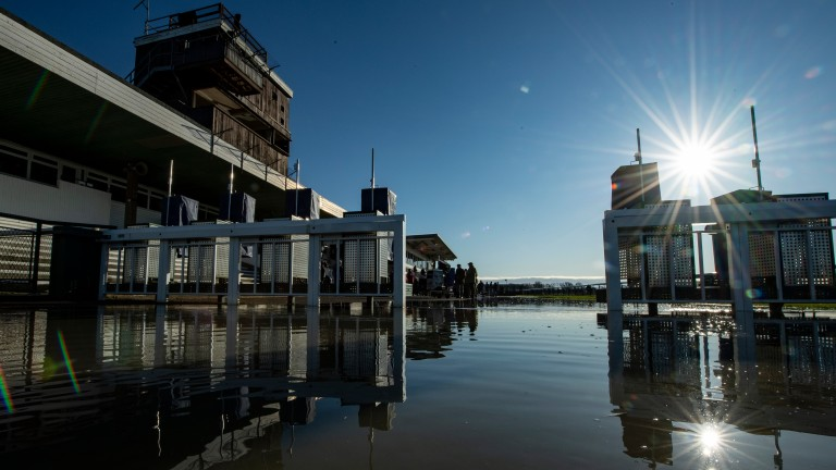 Huntingdon: has suffered woes with flooding already this year