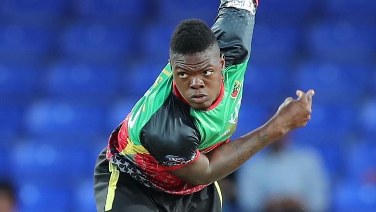 West Indies bowler Alzarri Joseph