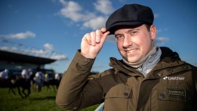 Trainer Olly MurphyKempton 28.1.19 Pic: Edward Whitaker