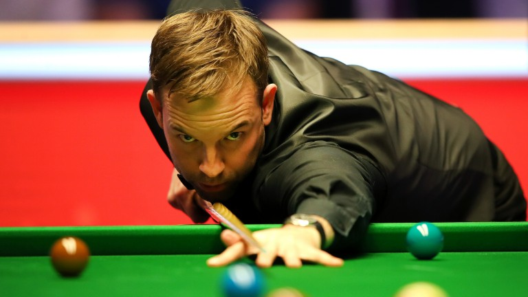 Ali Carter should be feeling confident after ousting Mark Selby and John Higgins at Alexandra Palace
