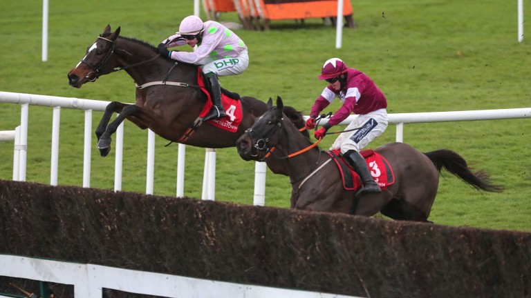 The John Durkan, won by Min last month, shared a split-screen with the Peterborough Chase