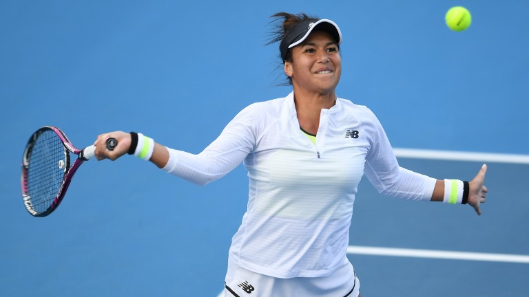 Britain's Heather Watson could be back to somewhere near her best after a quiet couple of years