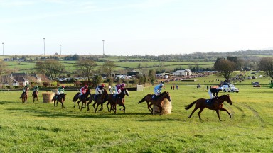 Ballycrystal: the first race meeting for the Ballinagore Harriers was hugely popular