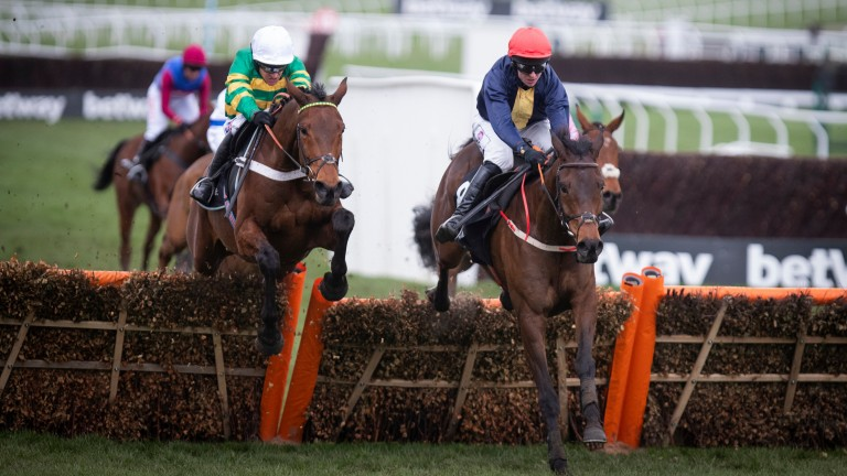 City Island (right): classy horse who landed the Ballymore as a novice