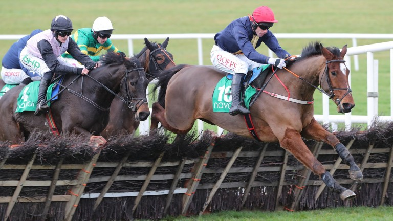 Longhouse Poet created a good impression when winning at Navan last month