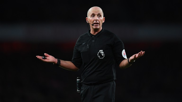 Mike Dean took charge of his 500th Premier League match last Saturday