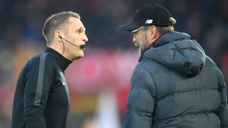Craig Pawson officiated Liverpool's win over Manchester United in the Premier League