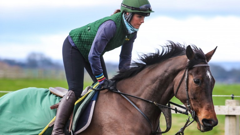 Regular rider Jennie Durrans and Lady Buttons