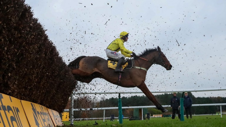 Lostintranslation (Robbie Power) lands the 2019 Betfair Chase at Haydock