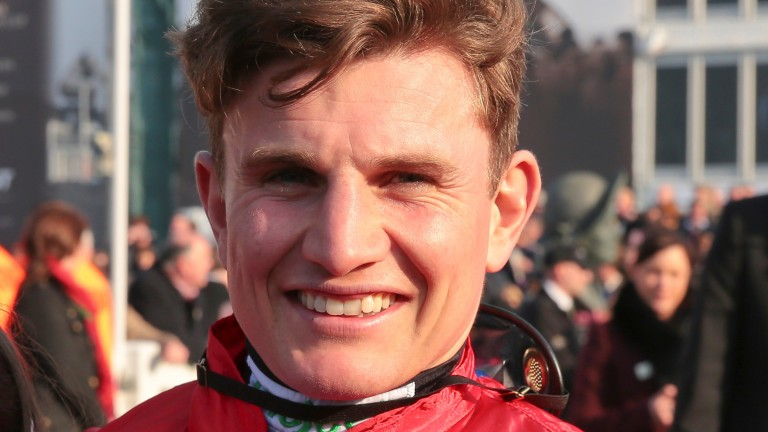 Jamie Moore: successful on 50-1 shot Itsaboutime for trainer Helen Nelmes