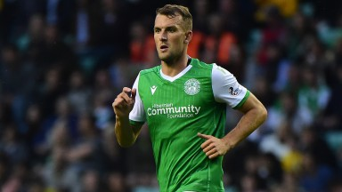 Christian Doidge is part of an in-form Hibs attacking trio