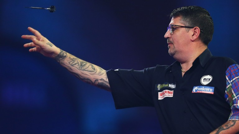 Suddenly Gary Anderson will be firmly believing that a third world title is within grasp