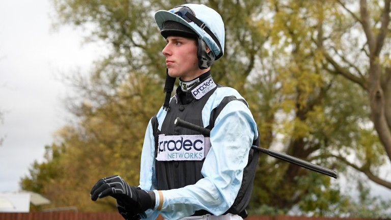 Harry Teal: bowed out after Bob Ford pulled up at Chepstow on Friday